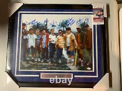The Sandlot Autograph Signed 8 Cast Members Inscribed 16x20 Photo Framed JSA