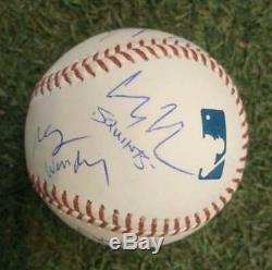 The Sandlot Autographed Official MLB Baseball Signed by 10 Cast Members JSA COA