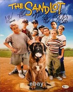 The Sandlot Cast Signed Vertical Movie Poster 16x20 Photo