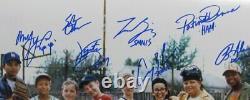The Sandlot Multi-Signed/Autographed by 8 Cast Members 16x20 Photo JSA 162972