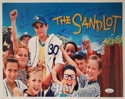 The Sandlot Signed 11x14 Original Cast Private Signing JSA 8 Signatures ON SALE