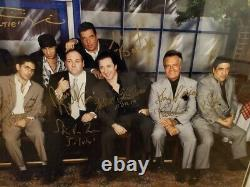 The Sopranos Cast Signed 26x22.5 Picture Framed With COA And Photo Proof
