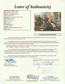 The Sopranos Complete Cast Signed Original HBO 2006 27x 40 Poster 12 Sig JSA COA