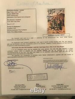 Very Rare Mash Full Jsa Loa Multi Cast 7x Signed 8x10 Auto Autograph Bas Psa