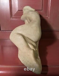 Vincent Glinsky Reclining Nude 11 Hand Cast White Foundry Stone Sculpture
