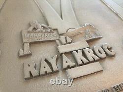 Vintage Cast Metal McDonald's Ray Kroc Restaurant Advertising Plaque Sign 18X14