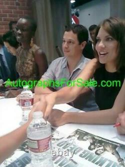 Walking Dead cast autographed 2013 SDCC photo Lincoln Reedus Cohan Gurira +9 JSA