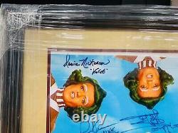 Willy Wonka 16x20 Cast Photo Autographed Signed Custom Framed with JSA LOA