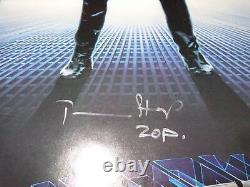 Affiche De Cinéma Signée De Superman II Timbre Terence Sarah Douglas Jack +