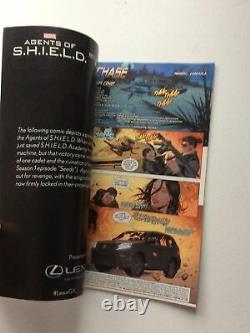 Agents Des Autographes Signés Shield Cast Sdcc Comic Con 2014