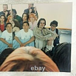 Authentique Larry Clark Photo Pleine Cast D'enfants Timbre Signé 4x6