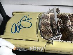 Autographe Signé Al Pacino Scarface Jada 118 Cadillac Die Cast Car & Figure Coa