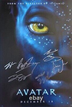 Autographed'avatar' (cast Signed) Affiche De Film + Coa