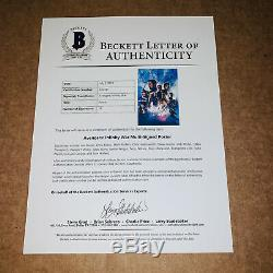 Avengers Endgame Signe 12x18 Film Affiche De 16 Membres Cast Avec Beckett Bas Coa