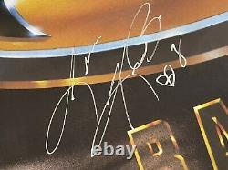Batman 1989 Signé Affiche 24x36 Signatures Réelles Par Michael Keaton Cast