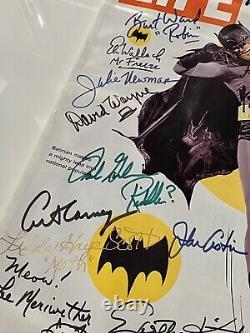 Batman Life Magazine 1966 Casting Signé Adam West
