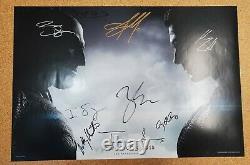 Batman V Superman Sdcc 2015 Cast Signé Snyder Cut Cavell, Affleck, Gadot + 6