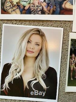 Big Brother All Stars Cast Photos Dédicacées Bundle Janelle Pierzina