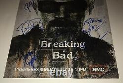 Breaking Bad Cast Signé 11x17 Bob Odenkirk +8 Authentique Autographié Photo