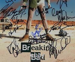 Breaking Bad Jsa Cast 18 Signatures Signées Autographe 11x14 Photo