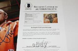 Breaking Bad Show Signed 11x14 Photo Beckett Coa Bryan Cranston Aaron Paul Cast