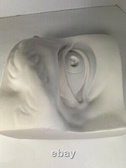 British Museum Original Mould Michelangelo's Plaster Cast Of Davids Eye