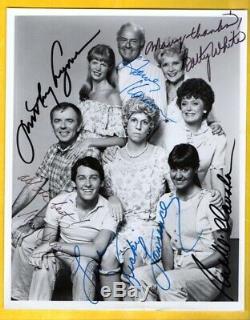 Cast De La Famille Mama's (6 Signatures) Autographed Photo Avec Coa