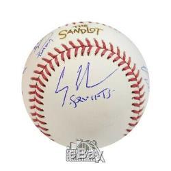 Cast Sandlot Autographié Le Sandlot Officiel Mlb Baseball Bas Coa