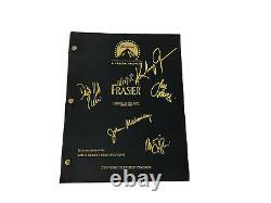 Frasier Cast Signed Script 5 Étoiles Grammer-pierce-leeves Mahoney Gilpin Mint