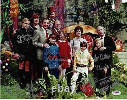 Gene Wilder Willy Wonka Et Chocolate Factory Cast Signé 11x14 Photo Psa/dna
