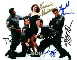Ghostbusters Cast Aykroyd Murray +3 Signé 8x10 Photo Autographiée Coa