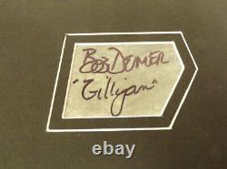 Gilligan's Island Cast Signé Encadré 18x24 Photo Display Jsa