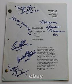 Goosebumps / 1995 Scénario De Télévision Original Autographé Par Cast, Fille Qui A Crié Monstre