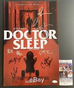 Hypnotic Cast Stephen King Signée Par Neuf 11x17 Affiche Dédicacée Jsa Coa