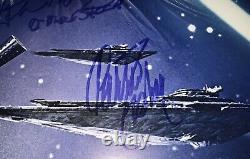La Force Signée 27x40 Poster Full Jsa Loa