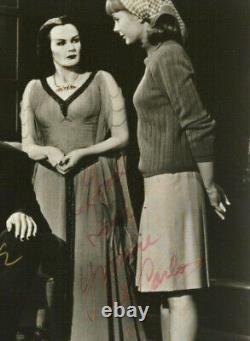 La Série Tv Munsters Des Années 1960 Rare Signé Cast Photo 4 Signatures Autographes