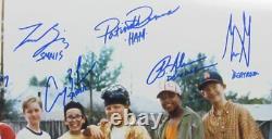 Le Sandlot Multi-signé/autographié Par 8 Membres Cast 16x20 Photo Jsa 162972