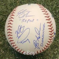 Le Sandlot Officiel Autographié Mlb Baseball Signé Par 10 Membres De La Distribution Jsa Coa