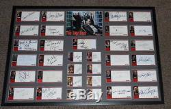 Les Sopranos Cast Signé Encadrée 25x37 Photo Encadrée Affichage 33 Automobile Inkworks