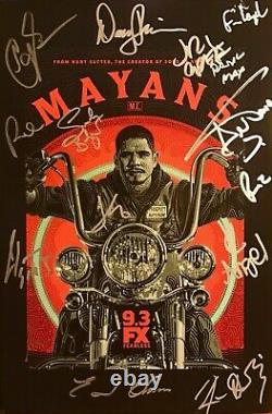 Mayans M.c.' Poster, Signed By Cast / Sdcc 2019 We Package The Best