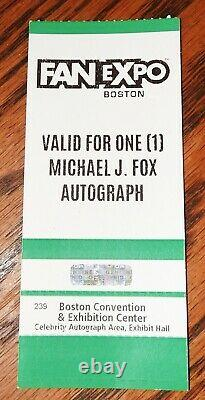 Michael J Fox Christopher Lloyd Wilson Thompson Cast Signé Delorean Beckett