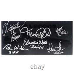 Michael J. Fox-back To The Future Ii-cast Signed1981 Delorean Sales Brochure-nouveau