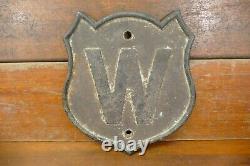 Rare Antique Originale Minneapolis St Louis Railroad Cast Iron Whistle Connexion