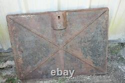 Rare Original Antique Cast Iron Railroad Crossing Sign Georgia Law Stop Insafe