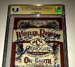 Red Dead Redemption 2 Cast Signed X8 Cgc 9.8 Wheeler Rawson And Co Catalogue