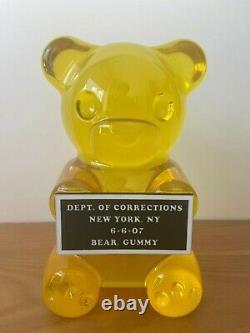 Résine De L'ours Gommy Cast Sculpture Edition Limitée Disp Individuel Ou Ensemble