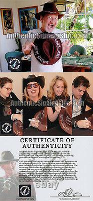 Robert Englund Freddy Krueger Cast Autographed Nightmare Elm St Fedora Asi Preuve