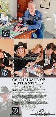 Robert Englund Freddy Krueger Cast Autographed Nightmare Elm St Poster Asi Preuve
