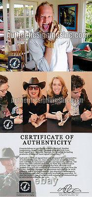 Robert Englund Freddy Krueger Cast Autographié Nightmare Elm St Glove Asi Proof
