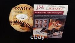 Sandlot Signé Baseball Ruth Replica Jsa Original 8 Membres De La Distribution Rare En Vente